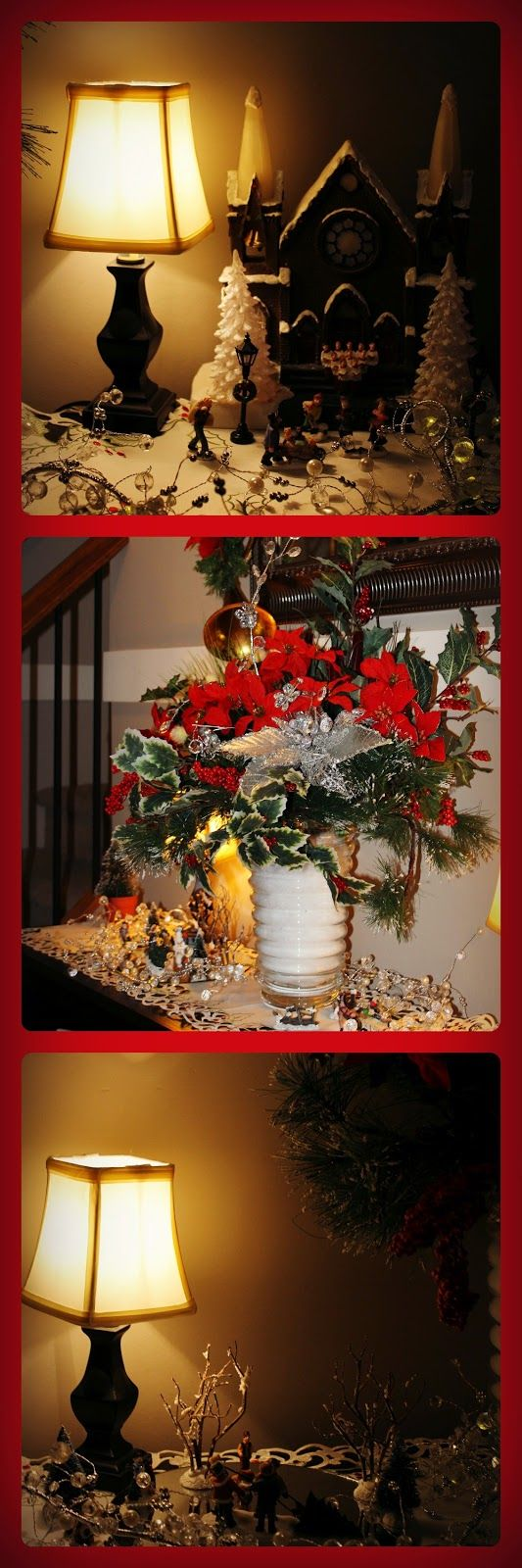 WELCOME TO MY HOUSE THIS CHRISTMAS---By Christine Lindsay