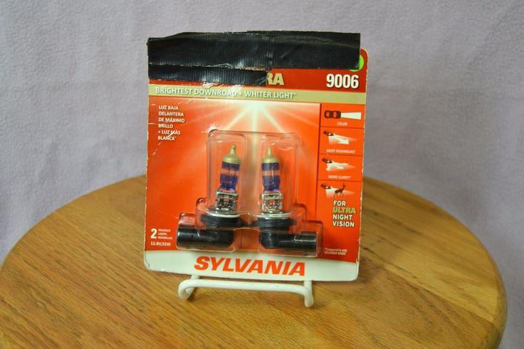 Sylvania 9006 Silverstar Ultra Halogen Car Headlight Bulb - 2 Pack 55W 12.8V #Sylvania