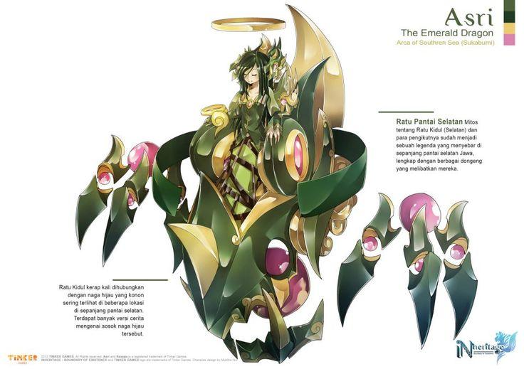 Asri / The Emerald Dragon / Arca of Southern Sea (Indonesia)