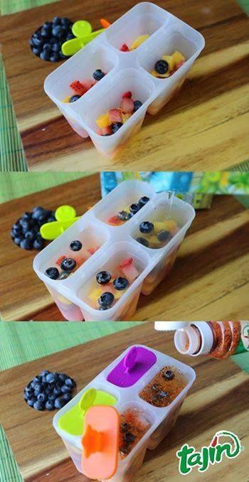 1, 2, 3, ice popsicle, perfect for summer // 1, 2, 3  paletas de hielo, ideales para el verano
