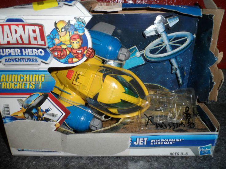 MARVEL SUPER HERO RESCUE JET. NEW IN BOX