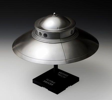 1/48 空飛ぶ円盤 アダムスキータイプ プラモデル[WAVE]《取り寄せ※暫定》