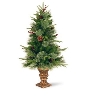 National Tree Co. 4' Feel-Real Cleveland Artificial Christmas Tree