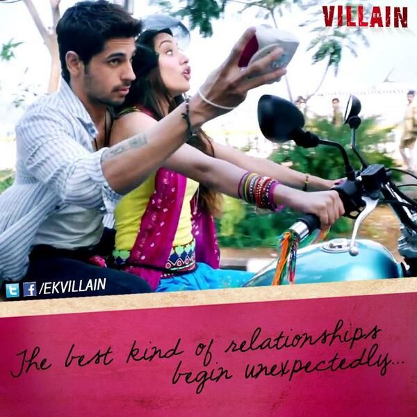Siddharth Malhotra and Shraddha Kapoor ~ The best kind of relationships begin unexpectedly ...