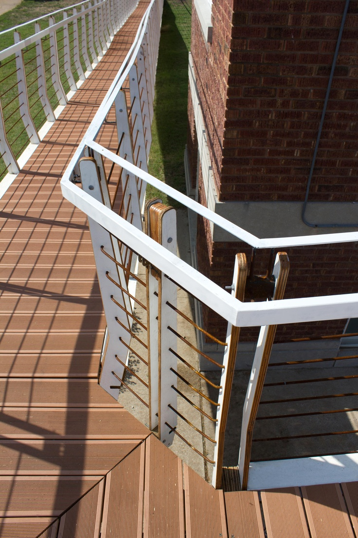 BamDeck™ Bamboo Composite Wheelchair Ramp Installed At A Church By Kansas  State University Architecture Students