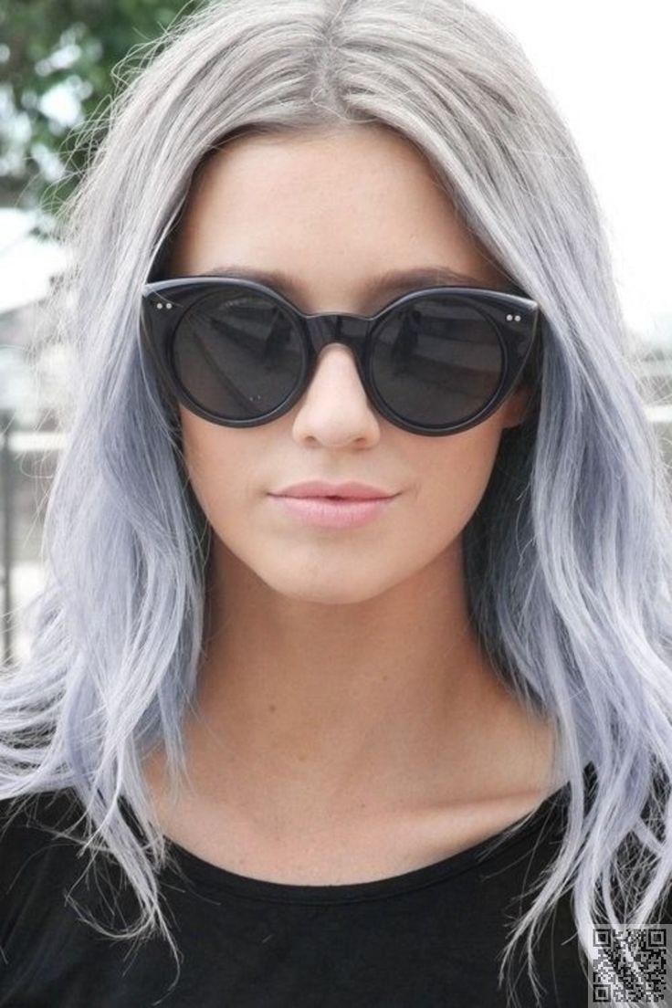11. #Silber zu blau - 43 Mädchen #Schaukeln pastellfarbene Haar... → Hair