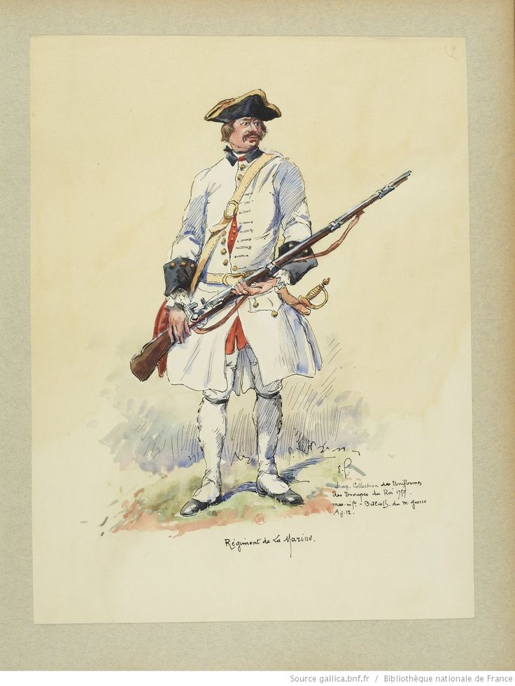 France Regiment de la Marine