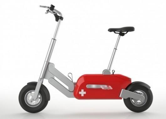 Voltitude: Una bici electrica plegable a los Swiss Army #WishList