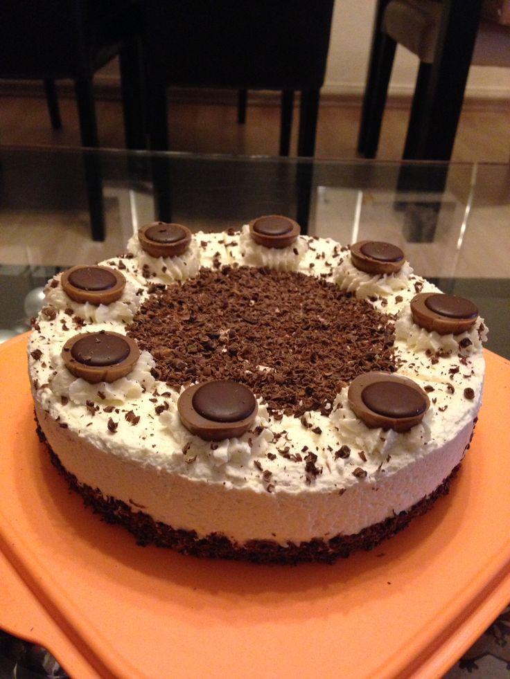 Haselnuss Toffee Torte