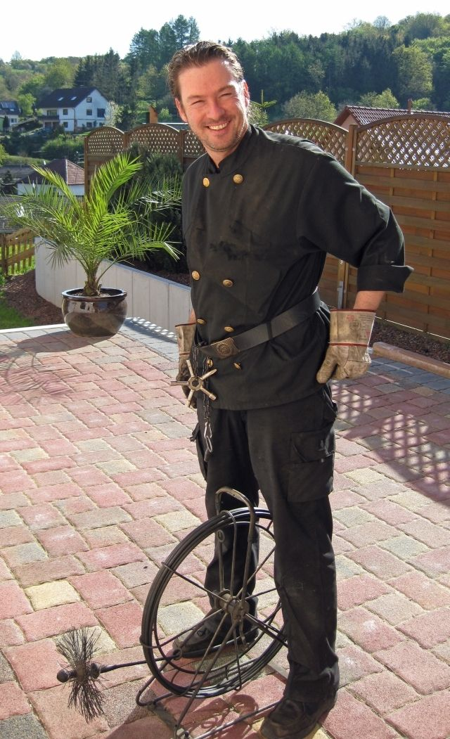 In Germany Legend Has It Chimney Sweeps Bring Good Luck