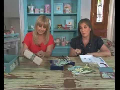 Como decorar una caja con Decoupage - YouTube