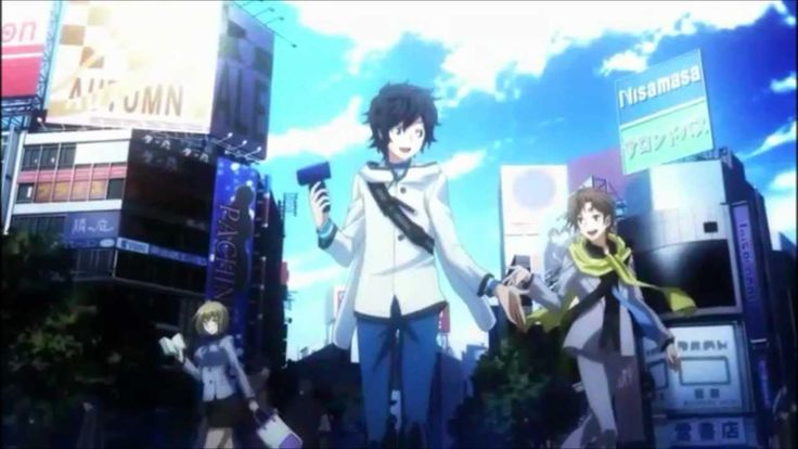 I love the ending song for Devil Survivor 2: The Animation. BE by Song Riders