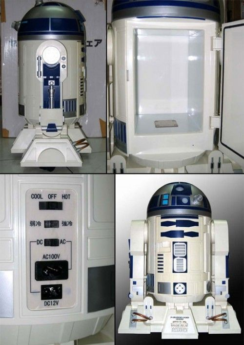 R2 D2 Fridge...WOW!