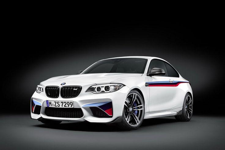 � l�instar de tous les mod�les issus de la gamme BMW Motorsport, la nouvelle BMW M2 Coup� re�oit l�ensemble des pi�ces M Performance.