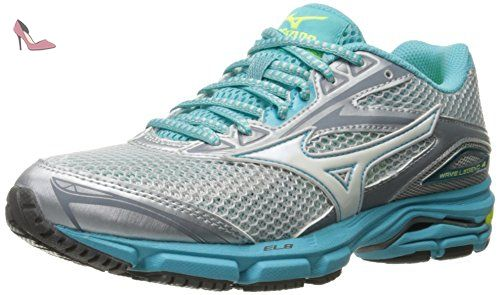 Mizuno Wave Catalyst, Chaussures de Running Compétition Homme - Bleu - Blue (Palace Blue/White/Safety Yellow), 46 EU (11 UK)