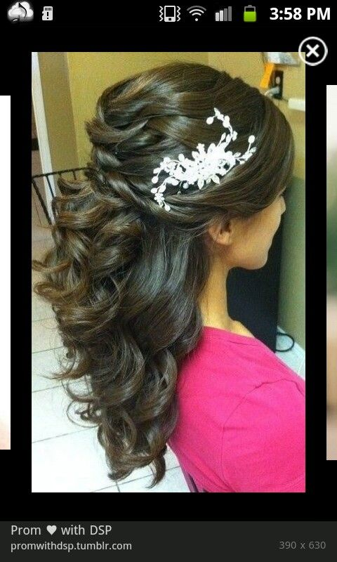 Perfect prom hair <3