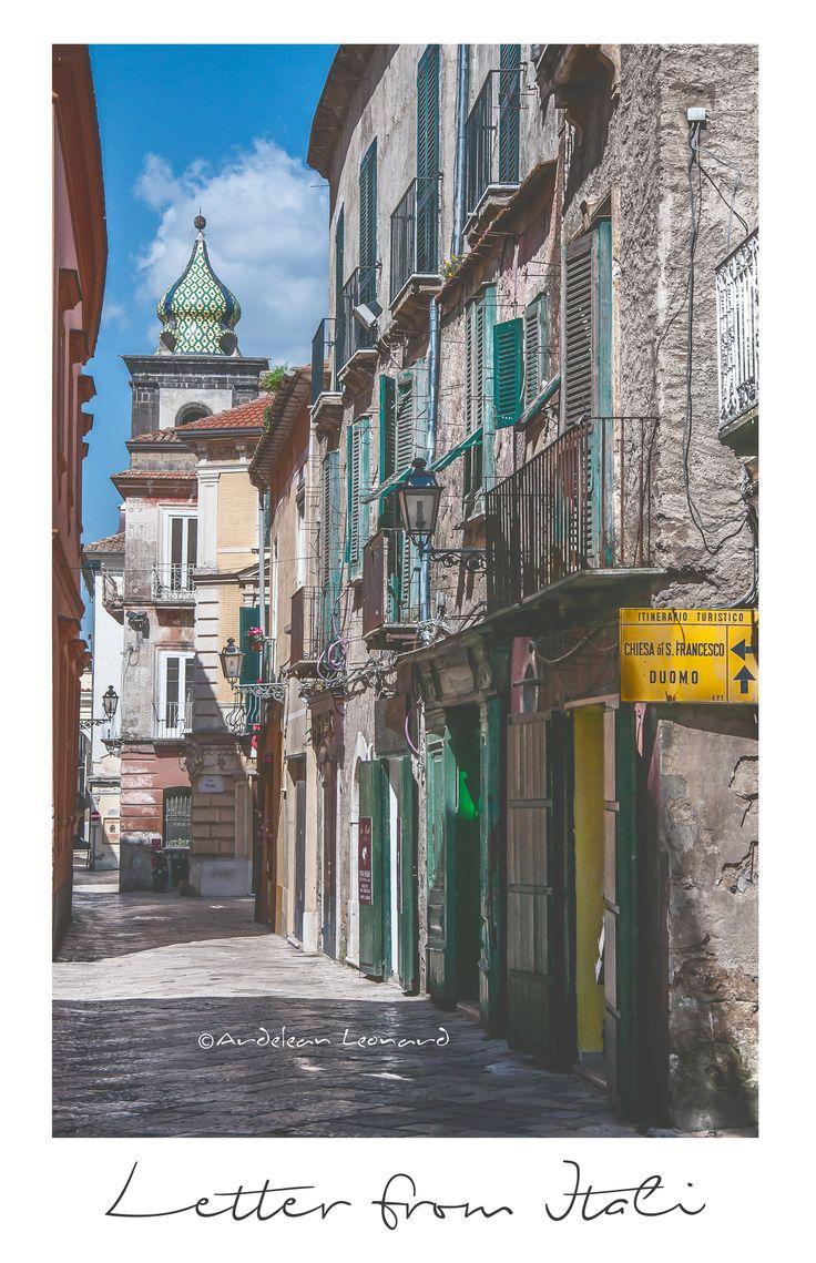 Street in Sant`Agatha dei Goti (Italy 2o13)
