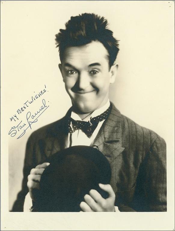 Stan Laurel (1890-1965) aka Arthur Stanley Jefferson