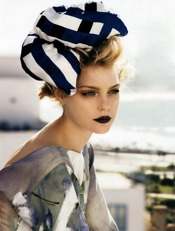 "Jessica Stam | Vogue UK May 2008 ""The Sheltering Sky"" by Patrick Demarchelier"