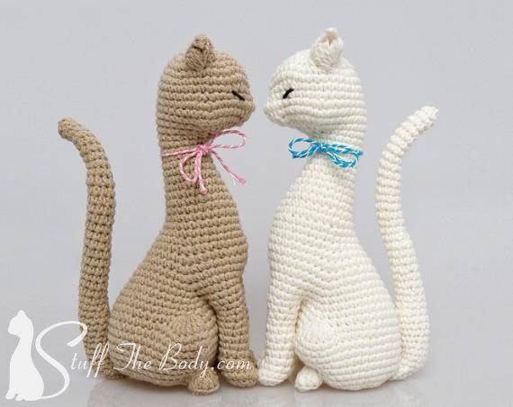 Free Amigurumi Cat : 100 best amigurumi kedi images on pinterest crochet dolls
