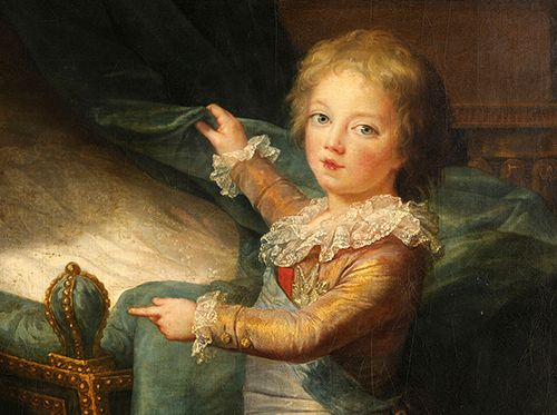 Louis Joseph Xavier Francois de France, the second child and first son of Louis XVI and Marie Antoinette, died on June 4th, 1789 due to complications from tuberculosis. He was seven years old