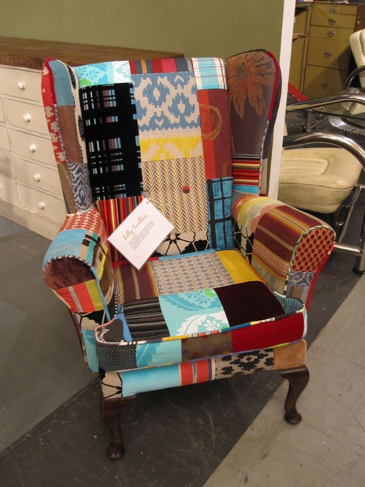 Vintage Upcycled Chair by Kelly Swallow