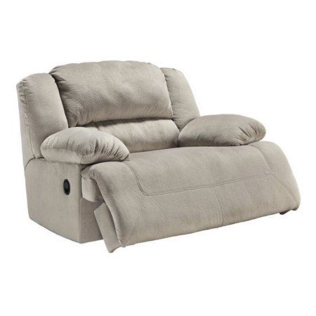 Free Shipping. Buy Ashley Toletta Fabric Wide Seat Power Recliner in Granite at Walmart.com