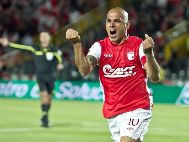 Omar Pérez, el capitán y fugura de Independiente Santa Fe Foto: Terra