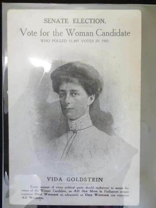 1910 Australian Senate Election - Vote for the Woman Candidate