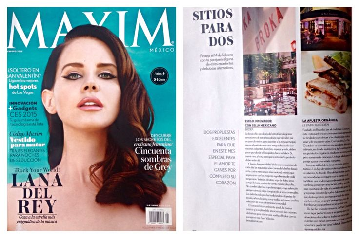 Le Pain Quotidien en la revista Maxim
