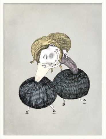 Inrammet bilde fra Bob Noon, illustrasjon av Stine Illum, pris 1120,- | Norway Designs