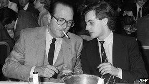 Jacques Chirac - Nicolas Sarkozy