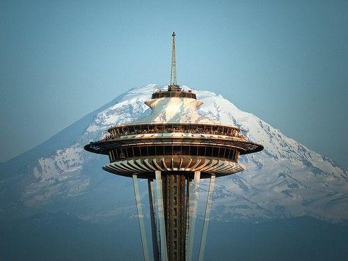 Amazing photo of the Space Needle, Seattle