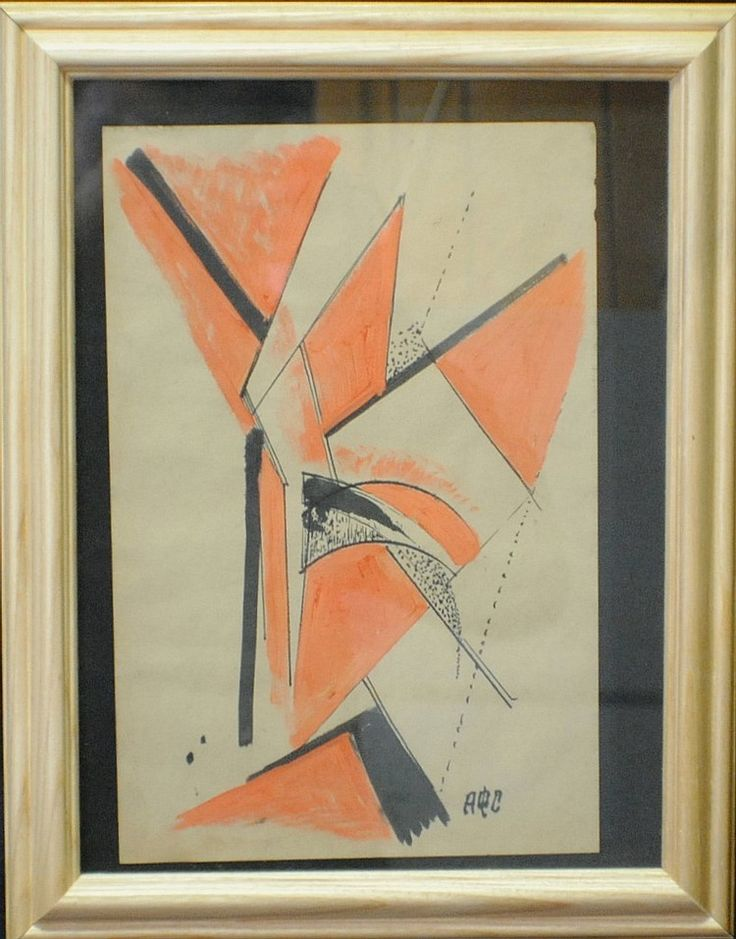 "Another one. Artist: Antonina Sofronova (Russian, 1892 – 1966) ""Abstract"""