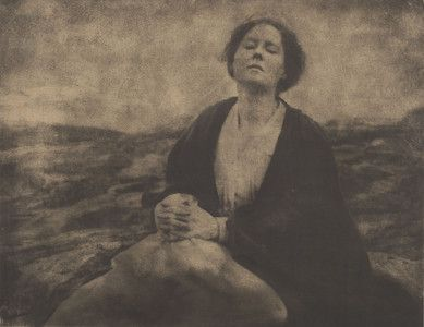 """""""The Heritage of Motherhood,"""" 1904, Gertrude Kasebier. University of Delaware Collection, gift of Mason E. Turner Jr, 1994. Featured in March 2013 article, """"Gertrude Kasebier: Two Exhibitions In Delaware."""""""