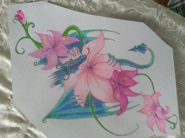 Dragon.flores