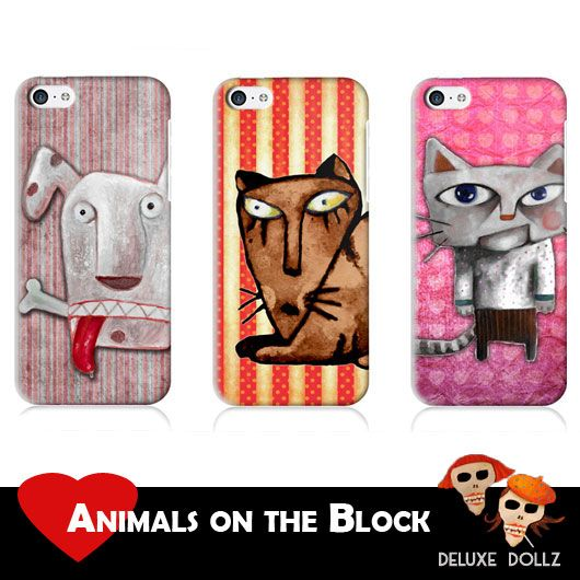 new Animals Collection mobile phone cases <3