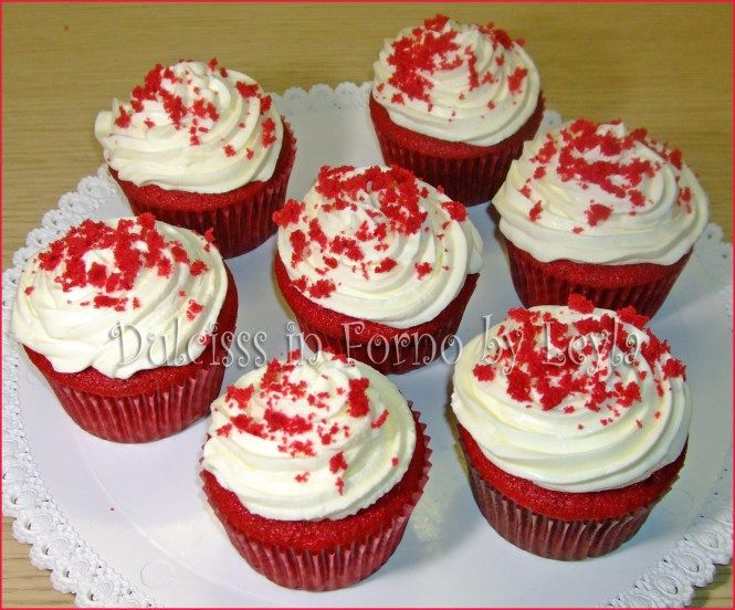 Red Velvet Cupcakes RICETTA