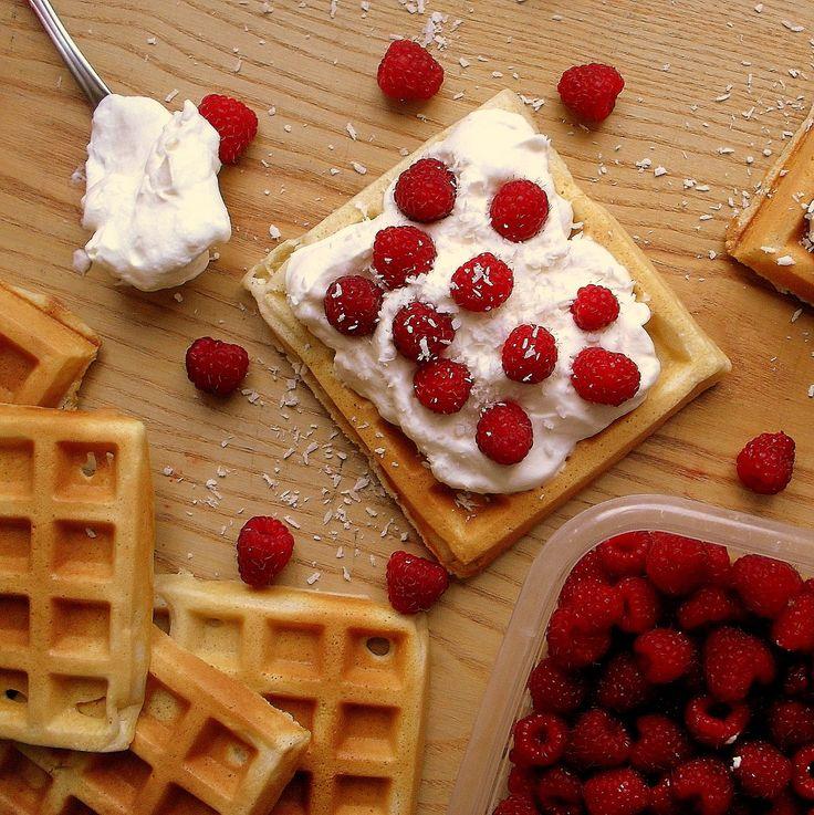 Lekcje w kuchni: Gofry / Waffles