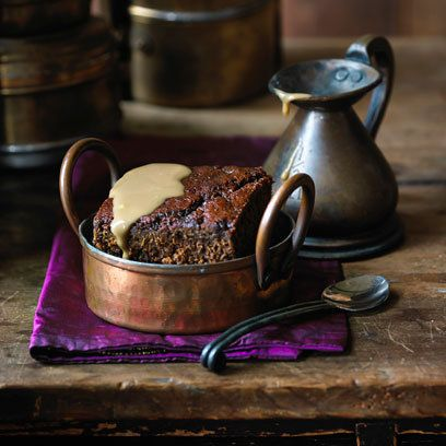 Black tea sticky toffee pudding by Ravinder Bhogal for Tea India
