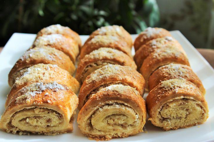 Печенье с ореховой начинкой (Восточная сладость Гата)
