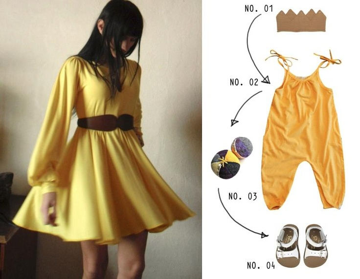 Darling Clementine + Bleubird Vintage :: Jumpsuit & Crown available in the shop
