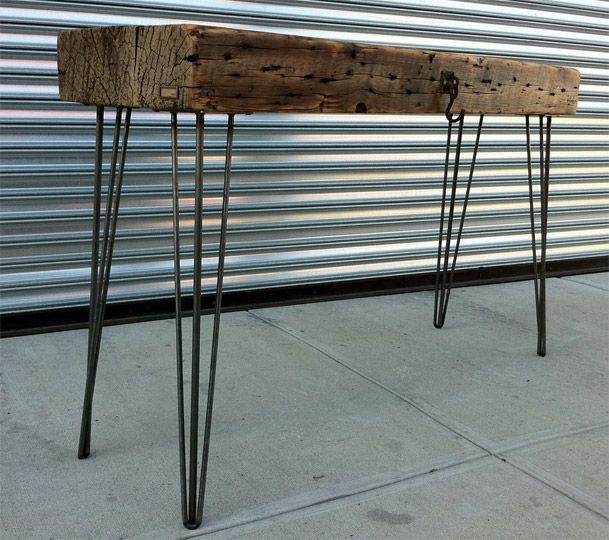 17 best images about stainless steel bench on pinterest hairpin table legs urban furniture. Black Bedroom Furniture Sets. Home Design Ideas