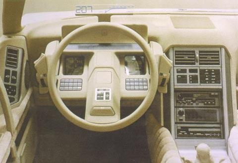 Citroen XM prototype interior