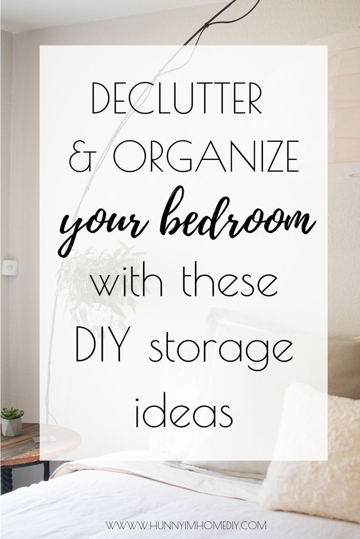 10 Awesome Diy Storage Ideas For Small Bedrooms Diy Storage Diy