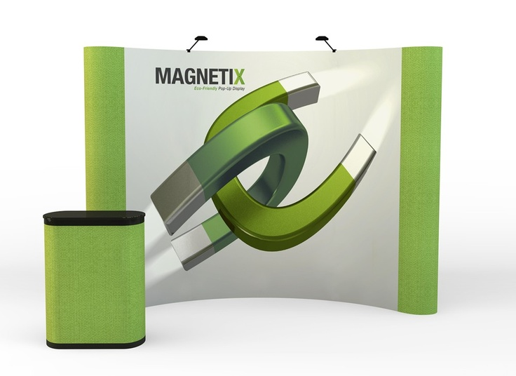 Magnetix 10Ft. Pop Up Display - Graphic Mural With Fabric End Panels
