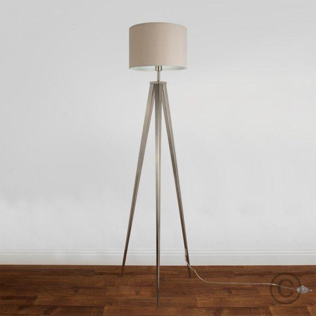 Modern Nero Tripod Floor Lamp Buy Here Valuelights