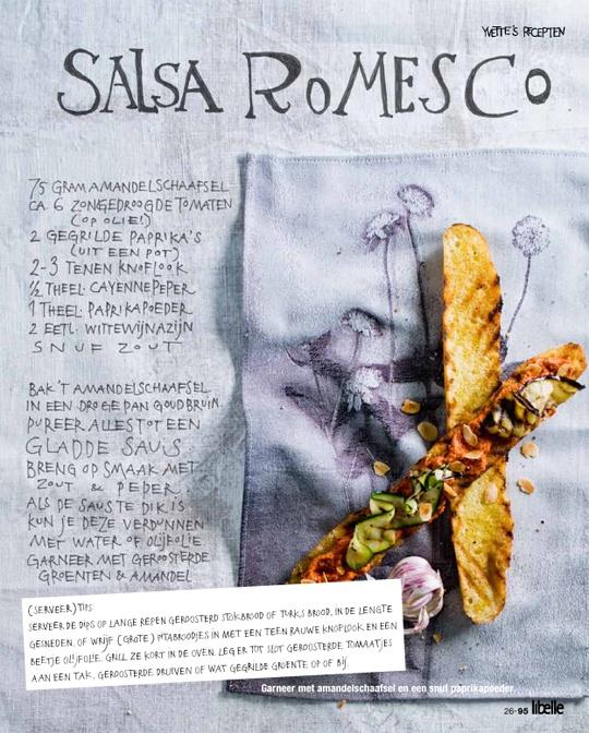 Yvette Van Boven - Salsa Romesco