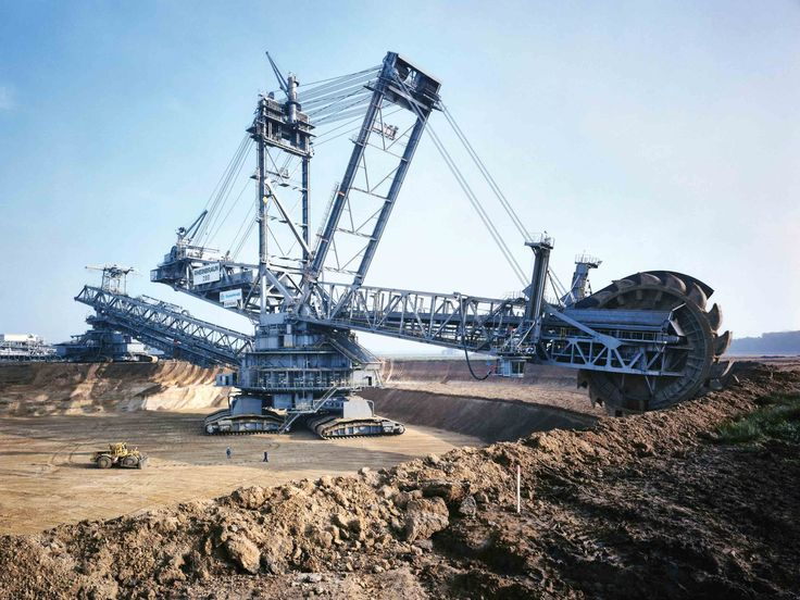 Image result for The Bagger 288 Bucket Excavator