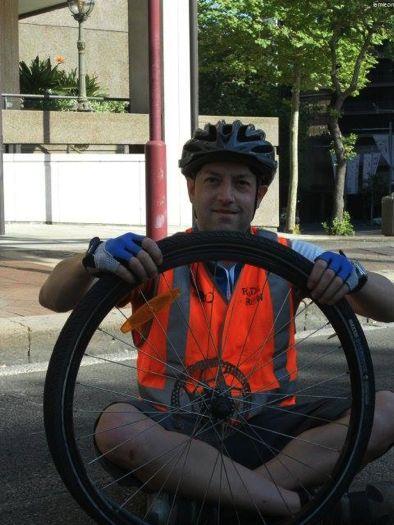 One of our amazing Ride Crew Volunteer Mechanics in action